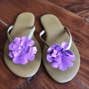 Old Navy Flowered Sandals